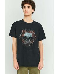 Urban Outfitters | Black Metallica Inside Out T-shirt for Men | Lyst