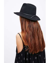 Brixton - Multicolor Wesley Hat In Black - Lyst