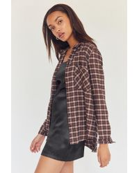 BDG - Multicolor Molly Flannel Button-down Shirt - Lyst