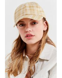 Urban Outfitters - Natural Printed Cotton Canvas Baseball Hat - Lyst