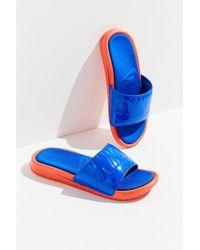 Nike - Blue Nike Benassi Solarsoft Jdi Slide - Lyst