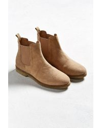 Urban Outfitters - Brown Uo Double Crepe Suede Chelsea Boot - Lyst