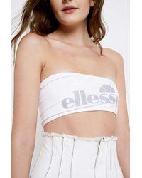 03db2b8c92 Ellesse White Tube Top - Womens Uk 12 in White - Lyst