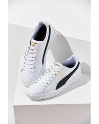 a4af25029d0ba2 PUMA Clyde Core Foil Sneaker in Blue for Men - Lyst