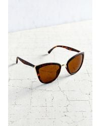 Quay - Brown My Girl Sunglasses - Lyst