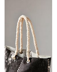 Urban Outfitters | Brown Whipstitch Tote Bag | Lyst