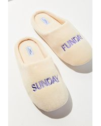Urban Outfitters | Multicolor Uo Sunday Funday Slipper | Lyst