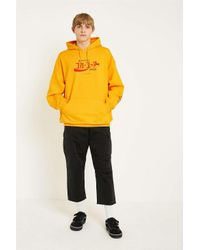 Urban Outfitters - Yellow Uo Gold Coca-cola Hoodie - Mens L for Men - Lyst