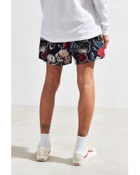 Urban Outfitters - Black Uo Maximus Floral Printed Short for Men - Lyst