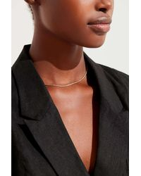 Urban Outfitters - Metallic Minimal Rope Chain Necklace - Lyst