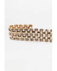 Urban Outfitters - Metallic Watch Band Choker Necklace - Lyst