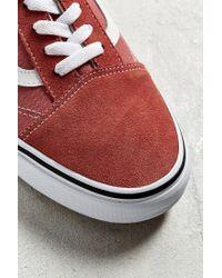 Vans - Red Vans Old Skool Sneaker for Men - Lyst