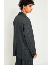 Urban Outfitters - Gray Uo Unisex Check Suit Jacket - Lyst