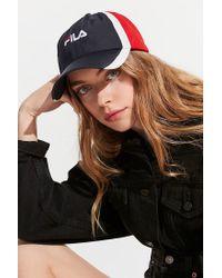 Fila - Multicolor Fila Colorblock Baseball Hat - Lyst