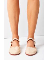 Urban Outfitters - Multicolor Cotton Mary Jane Flat - Lyst