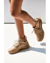 PUMA - Natural Fenty By Rihanna Trainer Hi Leather Sneaker - Lyst
