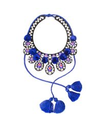 Shourouk | Multicolor Toboso Necklace | Lyst