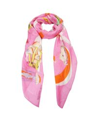 Swash London | White Abcs Waikiki Scarf | Lyst