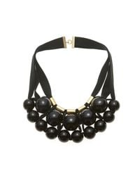 Marion Vidal | Black Ceramic Spheres Necklace | Lyst
