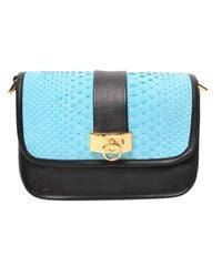 Philippe Roucou | Multicolor Peppermint Python Handbag | Lyst