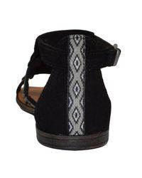 Minnetonka - Maui Women's Sandals In Black - Lyst
