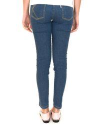KENZO - Blue Pantalon - Lyst