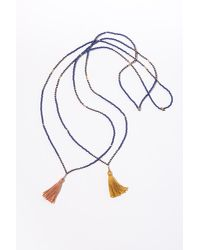 Velvet By Graham & Spencer - Desert Blue Necklace By Ild - Lyst
