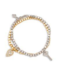 Vera Bradley - Multicolor Key Bracelet Duo - Lyst