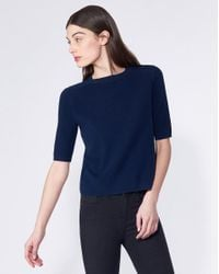 Veronica Beard - Blue Cyprus Sweater - Lyst