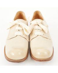 Jil Sander - Natural Leather Flats - Lyst