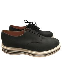 Church's - Blue Leather Lace Ups for Men - Lyst