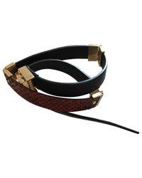 Céline - Multicolor Pre-owned Exotic Leathers Bracelet - Lyst