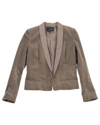 Isabel Marant | Natural Pre-owned Khaki Jacket | Lyst