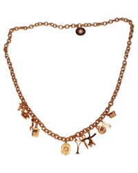 Balmain - Metallic Pre-owned Necklace - Lyst