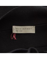 Stella McCartney - Black Silk Dress - Lyst