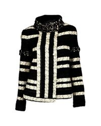 Chanel - Pre-owned Black Wool Jackets - Lyst