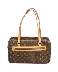 Louis Vuitton - Brown Pre-owned Handbag - Lyst