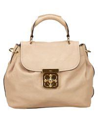Chloé - Brown Pre-owned Elsie Leather Handbag - Lyst