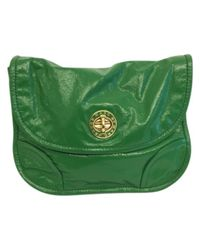 Marc By Marc Jacobs - Green Patent Leather Crossbody Bag - Lyst