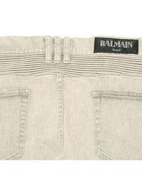 Balmain Gray Slim Jean for men