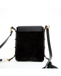 Isabel Marant - Pre-owned Black Suede Clutch Bags - Lyst