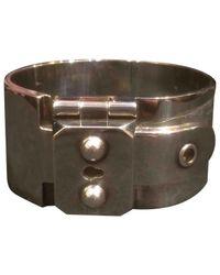 Hermès - Metallic Pre-owned Silver Bracelet - Lyst