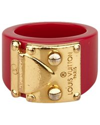 Louis Vuitton - Metallic Pre-owned Ring - Lyst
