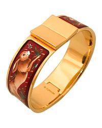 Hermès | Metallic Pre-owned Bracelet Email Bracelet | Lyst