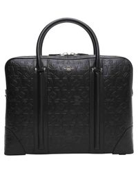 Givenchy | Black Pre-owned Leather Satchel | Lyst