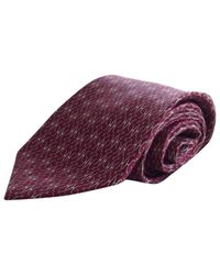 Hermès - Purple Silk Tie for Men - Lyst