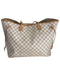 Louis Vuitton - Multicolor Pre-owned Neverfull Cloth Handbag - Lyst