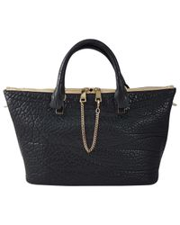 Chloé - Baylee Black Leather Handbag - Lyst
