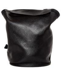 Hermès   Black Pre-owned Sherpa Leather Backpack   Lyst
