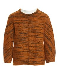 Isabel Marant - Orange Wool Jumper - Lyst